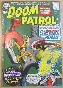 The Doom Patrol #98 (Sep 1965, DC) VG 4.0 condition
