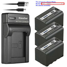 Kastar Battery Slim USB Charger for AG-VBR59 AG-B23 Panasonic AG-DVX200PB Camera
