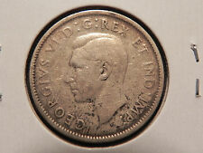 "~1944~ TWENTY FIVE CENTS CANADA  NICE 80% ""SILVER COIN"""