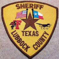 TX Lubbock County Texas Sheriff Patch