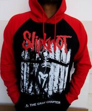 SLIPKNOT THE GRAY CHAPTER TWO TONES HOODIES PUNK ROCK BLACK RED MEN'S SIZES