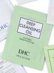 DHC Deep Cleansing Oil 3 x 3ml Makeup Remover