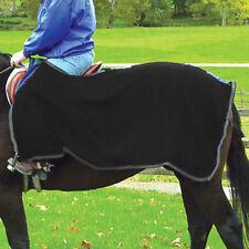 NEW Coronet High Spirit Fleece Quarter Sheet - Black / Gray