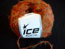 Wool/Acrylic Blend Fine Yarn Rusty Orange