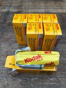 6 x rolls of Kodak Technical Pan 120 B&W film, expired, sealed, dated 1991