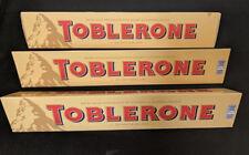 TOBLERONE MILK CHOCOLATE 1.08kg - Bundle of 3x360g Bars