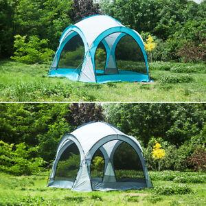 3.6x3.6M Gazebo Marquee Waterproof Shelter Canopy Garden Party Tent
