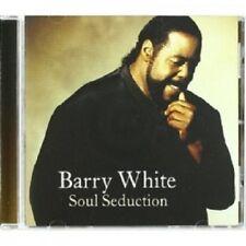 BARRY WHITE - SOUL SEDUCTION  CD  13 TRACKS INTERNATIONAL POP  NEW!