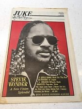 JUKE MAGAZINE NO.370 & 373 STEVIE WONDER THE CARS IRON MAIDEN MADNESS J GEILS