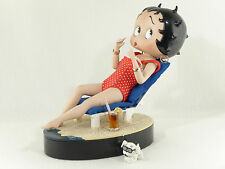 "Betty Boop ""Bathing Beauty"" Porcelain Doll Figurine - Danbury Mint - Box"