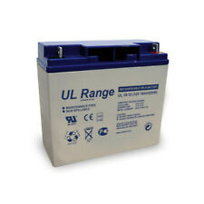 Batterie plomb étanche UL18-12 Ultracell 12v 18ah