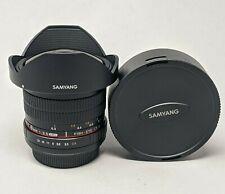 Samyang 8mm F3.5 UMC Fish-Eye CS II Lens for Canon - Nice Lens!