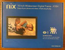 Nix X10H 10 inch Digital Photo Frame - Black