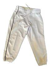 New Intensity By Soffe Women's White Softball Pants Or Ladies Baseball In Medium