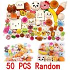 LOT 50x  Fast food&Rilakkuma Squishy Charms Squeeze Slow Rising Toy Gift Dulcet