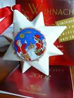 """HUTSCHENREUTHER 2002 CHRISTMAS STAR """"Frohe Botschaft"""" PORCELAIN Ornament NIB"""
