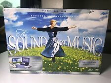The Sound of Music 45th Anniversary Set w/ 2-Disc Blu-ray MUSIC BOX Books.