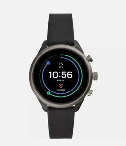 Fossil FTW6024 Black/Grey Lightweight Touch Screen OS Smart Watch Unisex