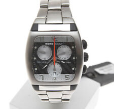 Momo Design Essenziale steel tonneau shaped chronograph new pristine unworn