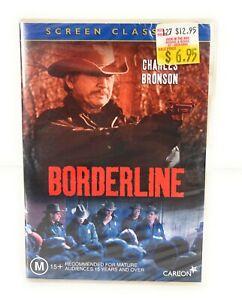 Borderline (DVD, 1980) Charles Bronson New & Sealed Region 4 Free Postage