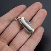 Stainless Steel Mini Folding Knife Neck Knife Pendant Pocket Keychain Men Gift