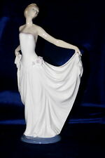 Lladro Female Dancer Special Edition Brand Nib #7189 Ballerina Flower Save$ F/Sh