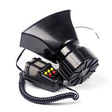 100W 7 Style Sound Car Siren Ambulance Warning Alarm Police Loudspeaker With MIC
