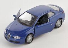 BLITZ VERSAND Alfa Romeo GT dunkelblau / blue 1:34-39 Welly Modell Auto NEU OVP