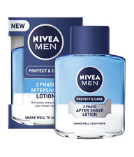 Nivea Men Aftershave Lotion Protect Shaven Skin & Care 2 Phase 100 ml
