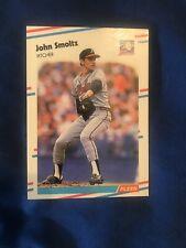 JOHN SMOLTZ 1988 Fleer Update U-74 Glossy SP Rookie Card RC Atlanta Braves HOF