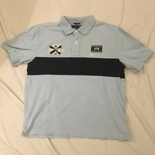 TOMMY HILFIGER Men's 1985 American Classic Embroidered Rugby Polo Shirt Sz L