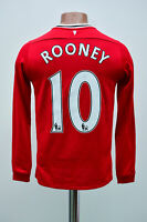 MANCHESTER UNITED 2011/2012 HOME FOOTBALL SHIRT JERSEY NIKE ROONEY #10 YL BOYS
