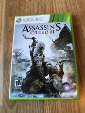 Assassin's Creed III 3 (Microsoft Xbox 360, 2012) Cib Game VC1