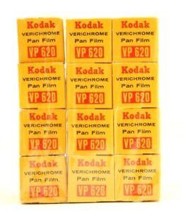 Kodak Verichrome Pan VP 620 Film (Expired Dec 1972) #33713 per Roll