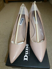 Dune Stiletto Patent Leather Court Shoes for Women
