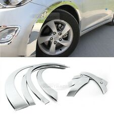 Chrome Wheel Fender Lip Cover Guard Molding Trim C203 For HYUNDAI 11-16 Elantra