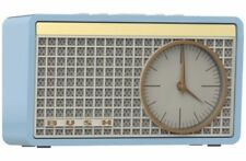Bush Classic Retro Analogue Clock Radio - Blue WO322