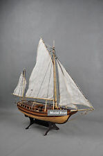 Model Boats Wooden Boston The Waves of The Wooden Sailing Ship Model Kit Hobby