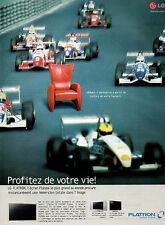 Publicité 2003  Téléviseur Ecran plasma LG FLATRON