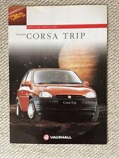 VAUXHALL CORSA TRIP 1996 SPECIAL EDITION CAR BROCHURE