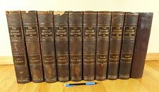 1897, 10 vol. LARGE encyclopedia set illustrated Century Dictionary & Cyclopedia