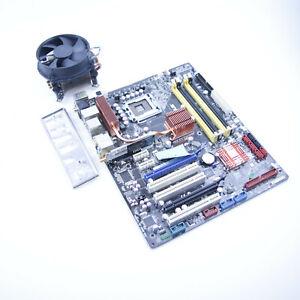 ASUS P5K-E/WIFI-AP Intel Sockel 775 Mainboard mit Kühler und Blende