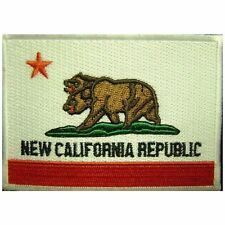 Fallout New California Republic Iron On Patch NCR Cosplay Fancy Dress Badge/Appl