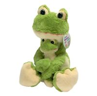 Frog Huggable Mommy & Baby 24 Inch Stuffed Plush Toy NWT