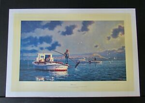 John Barber - HARVESTERS - Collectible Nautical Print - MINT