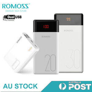 Romoss Power Bank Dual USB External Battery 2.1A Fast Charge Portable Charger