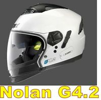 """CASCO NOLAN GREX G4.2 N-COM  EX N43E AIR BIANCO COL.4 Tg. """" M """" WHITE"""