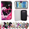 Flip Leather Stand Wallet Slot Soft Case Cover For Samsung iPhone LG Sony Phones