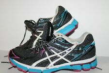 ASICS GT 2000 Running Shoes,Black/Blue/Pink  #T2k7n Womens US Size 9.5