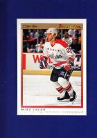 Mike Lalor RC 1990-91 O-PEE-CHEE OPC Premier Hockey #57 (NM+)Washington Capitals